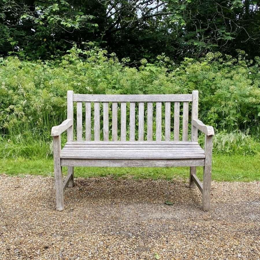 2 Seater Teak Bench