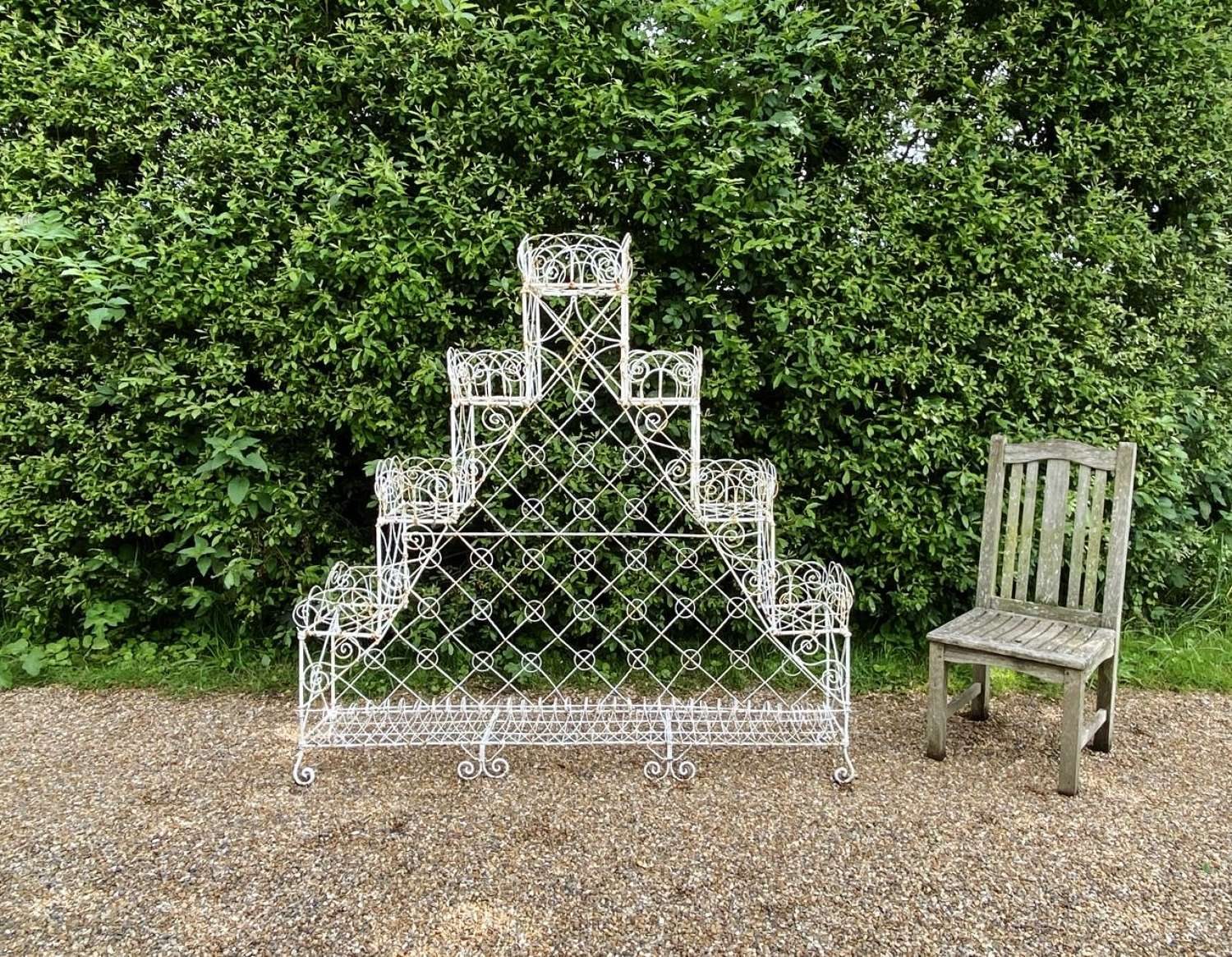 Large Wirework Plant Stand