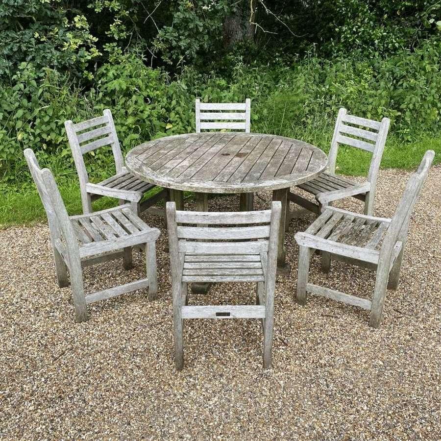 Circular Seating Set for 6