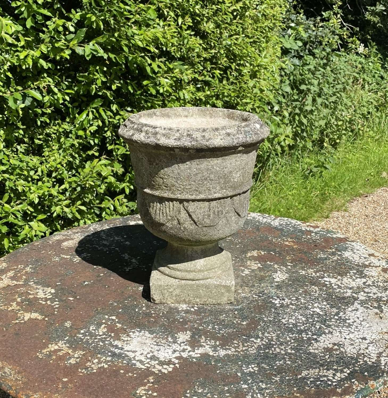 Small Weathered Urn
