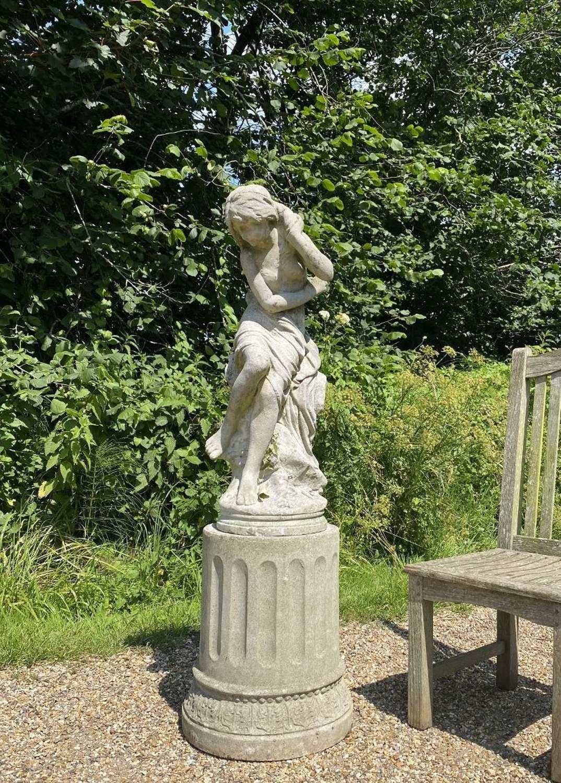Figure of Venus and Column Pedestal